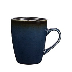 Home Collection - Dark green ombre 'Reactive' mug