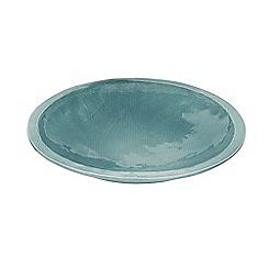 Murmur - Large green earthenware centerpiece bowl