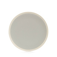 Home Collection - Grey raw edge dinner plate