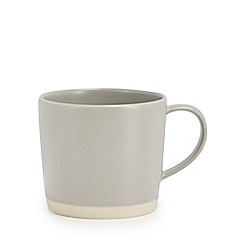 Home Collection - Grey raw edge mug