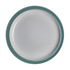 Denby - 'Elements' fern green dinner plate
