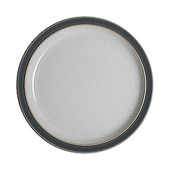 Denby - 'Elements' fossil grey medium plate