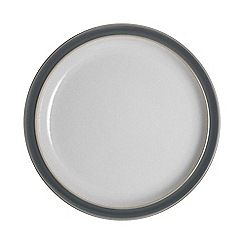 Denby - 'Elements' fossil grey dinner plate