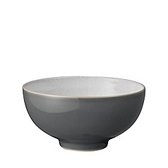 Denby - 'Elements' fossil grey rice bowl