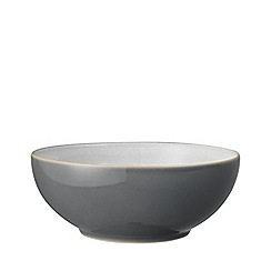 Denby - 'Elements' fossil grey cereal bowl