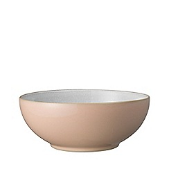Denby - 'Elements' shell peach cereal bowl.