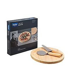 Denby - 3 piece pizza board set