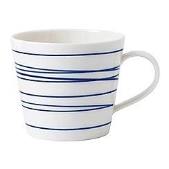 Royal Doulton - White porcelain 'Pacific' lines mug