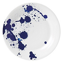 Royal Doulton - White and blue porcelain 'Pacific' 23cm splash plate