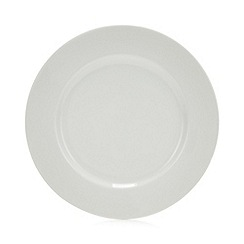Debenhams - White Rimmed Dinner Plate