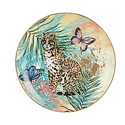 MW by Matthew Williamson - Multicoloured Jaguar Porcelain Plate