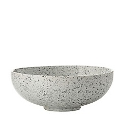 Maxwell & Williams - Stoneware 'Caviar Speckle' 19cm coupe bowl