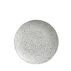 Maxwell & Williams - Stoneware 'Caviar Speckle' coupe dinner plate