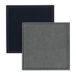 Istyle - Reversible navy placemats
