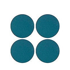 Home Collection - Set of 4 light blue felt placemats
