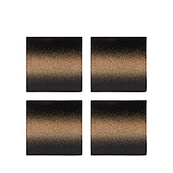 Star by Julien Macdonald - Set of 4 glitter ombre coasters