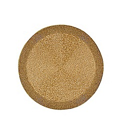 Debenhams - Gold beaded placemat