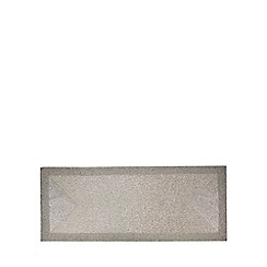 Debenhams - Silver beaded table runner