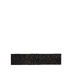 Debenhams - Black star print table runner