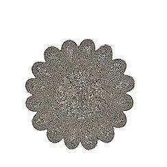 Star by Julien Macdonald - Dark grey beaded placemat