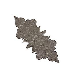 Star by Julien Macdonald - Dark grey beaded runner