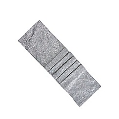Home Collection - Silver sequinned runner