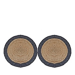 Home Collection - Set of two natural 'Stockholm' place mats