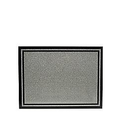 Star by Julien Macdonald - Silver glitter tabletop