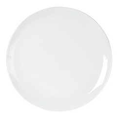 Ben de Lisi Home - White 'Dine' dinner plate