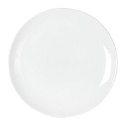Ben de Lisi Home - White glazed 'Dine' dessert plate