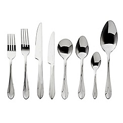 Viners - Stainless steel 'Breeze' 44 piece cutlery set
