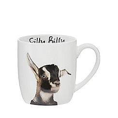 Home Collection - White 'Silly Billy' goat mug