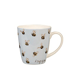 Queens - Blue 'The In Crowd - A Drift of Bees' mug
