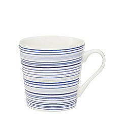 Home Collection - Blue striped mug