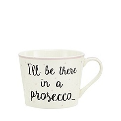 Home Collection - Pink 'Prosecco' mug