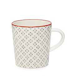 Home Collection - Multi-coloured 'Stockholm' flower print mug