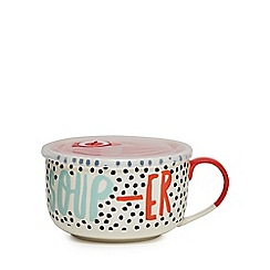 Home Collection - Multi-coloured soup mug