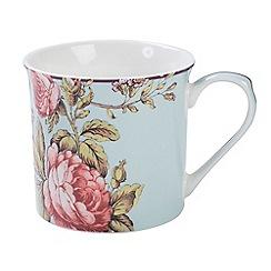 V & A - Multi-coloured gloss finish 'Rose Palace' mug