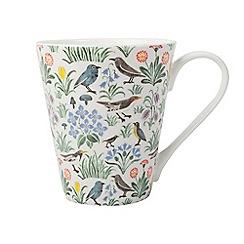V&A - Multi-coloured gloss finish 'My Garden' mug