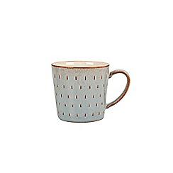 Denby - Glazed 'Heritage Portico' cascade mug