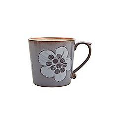 Denby - Glazed 'Heritage Heath' accent large mug
