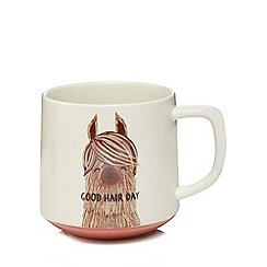 Home Collection - Multi-coloured Llama mug