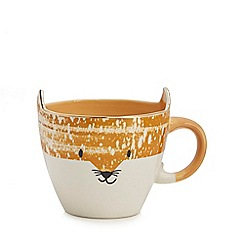 Debenhams - Orange fox mug
