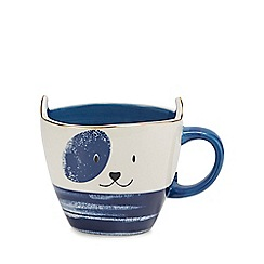 Debenhams - Blue dog mug