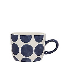 Home Collection - Navy spotted mug