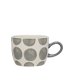 Home Collection - Grey spotted mug