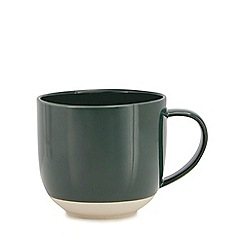 Home Collection - Green dipped mug