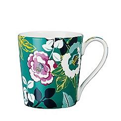 Denby - Multi-coloured glazed 'Monsoon - Paloma' mug