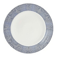 Royal Doulton - White porcelain 'Pacific' 28cm spotted plate