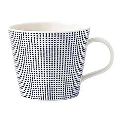 Royal Doulton - White porcelain 'Pacific' spotted mug